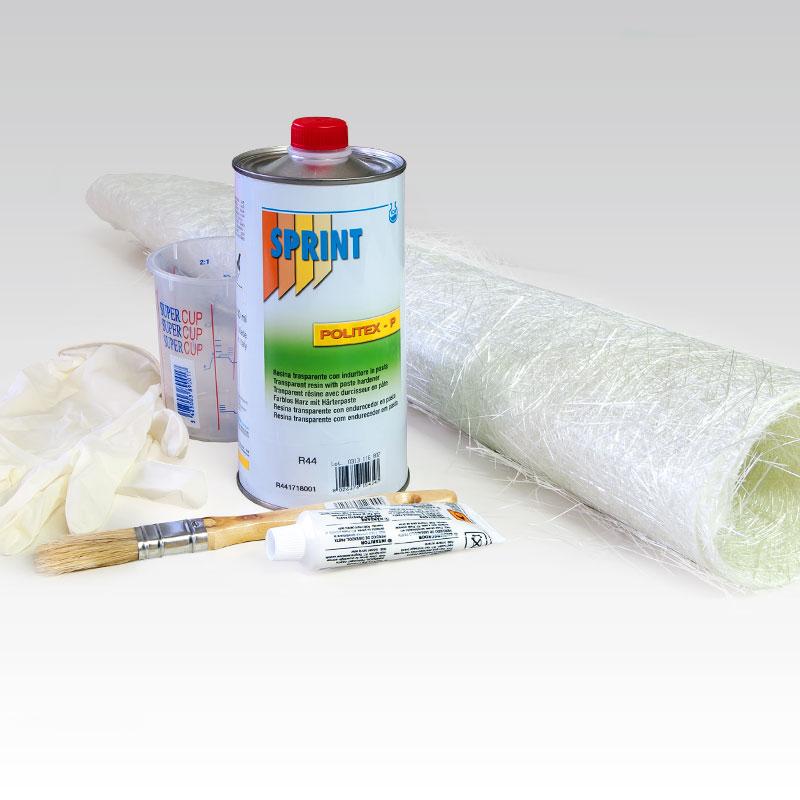Kit reparaci n fibra de vidrio - Pasta de fibra de vidrio ...
