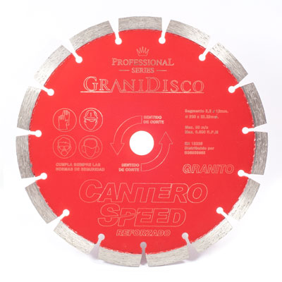 Disco diamante 230 mm Cantero Speed Reforzado