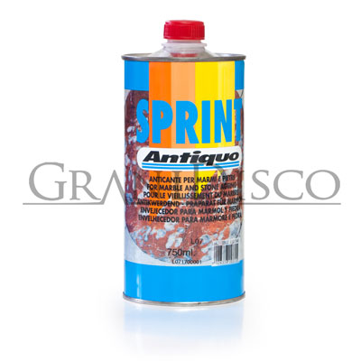 Envejecedor Sprint de mármol y piedra Antiquo 750ml.