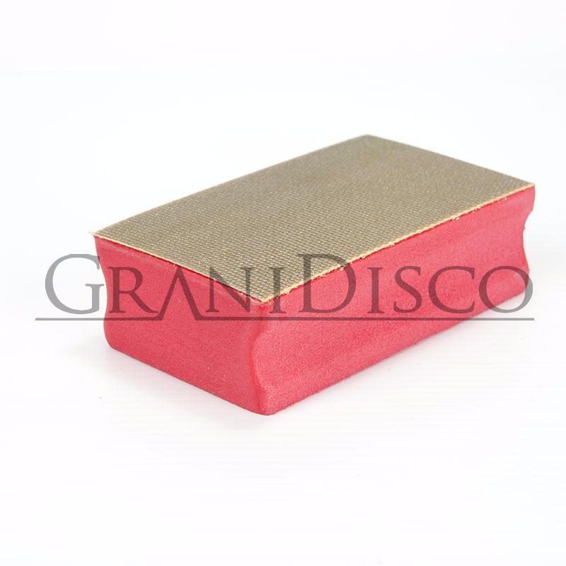 Taco de diamante para pulir piedra manualmente - Pulir marmol a mano ...