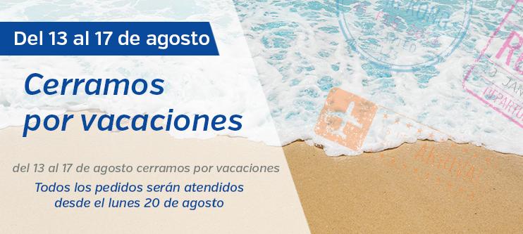 Vacaciones por verano 2018